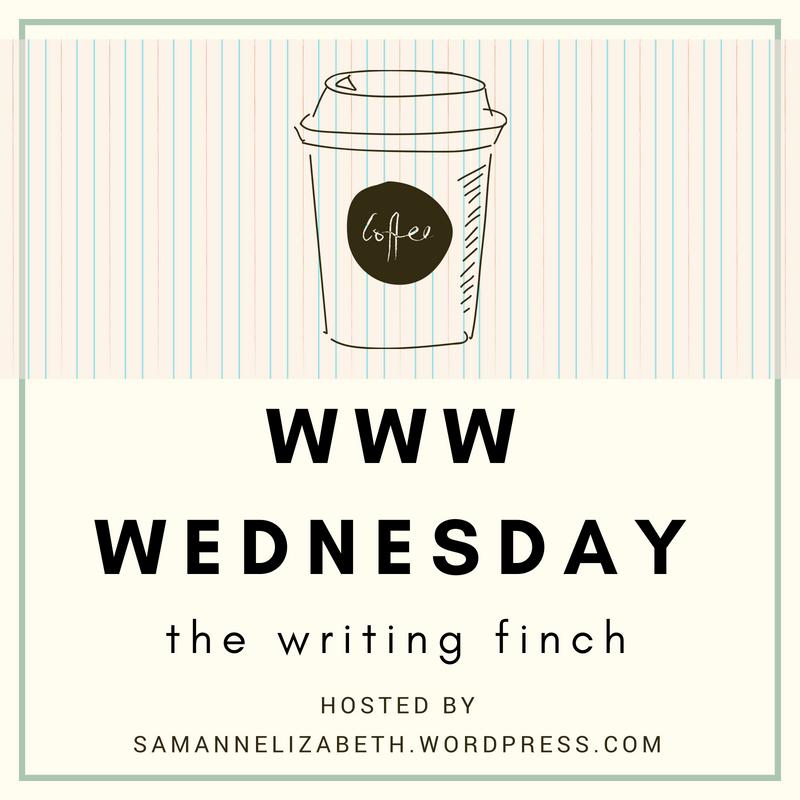 The Writing Finch - WWW Wednesday #1