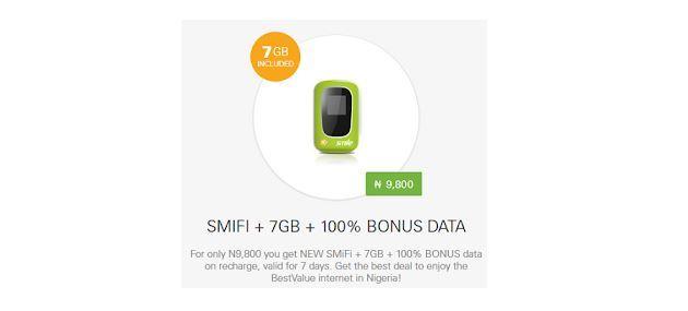 Get Free SMILE 7GB Data + 100% Data Bonus When You Buy Smifi