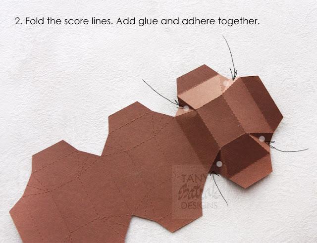 paper chocolade bar kirigami