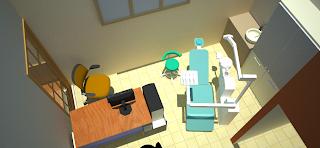 Desain Interior Ruang Praktek Dokter Gigi