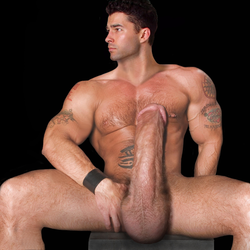 Gigantic Huge Meat Three Stunningly Handsome Men Two -5530