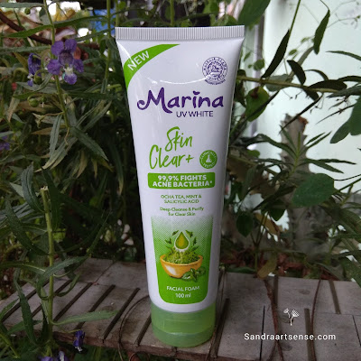 Marina Skin Clear+ Facial Foam