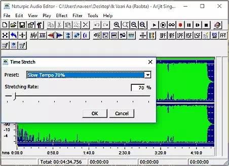 Software Untuk Mengubah Kecepatan Audio-3