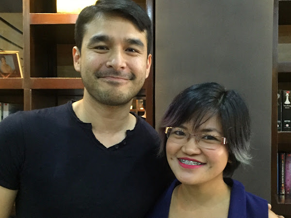 I met Atom Araullo today