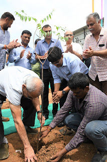 81 Tree Plantation - Celebration of Chairman's Birthday