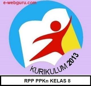 rpp ppkn kelas 8