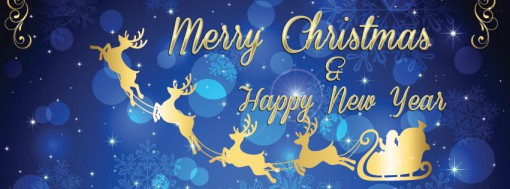 Marry Christmas & Happy New Year Cover Photo for facebook timeline and twitter image