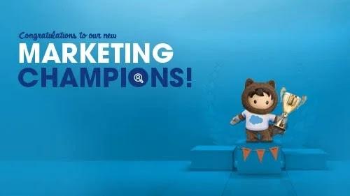 Tigh Loughhead is a 2020 Salesforce Marketing Champion