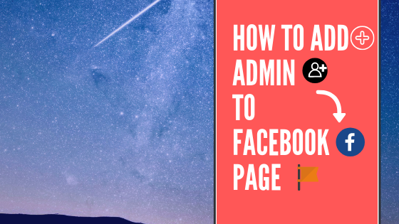 How To Add Admin On Facebook<br/>