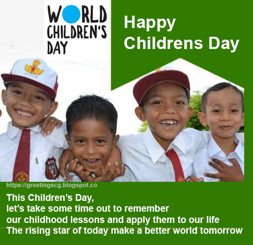 Children S Day Quotes Messages Sms Greetingscg