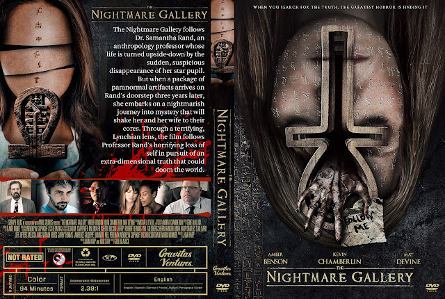 The Nightmare Gallery DVD Cover