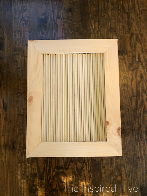 How to build a DIY reeded side table.