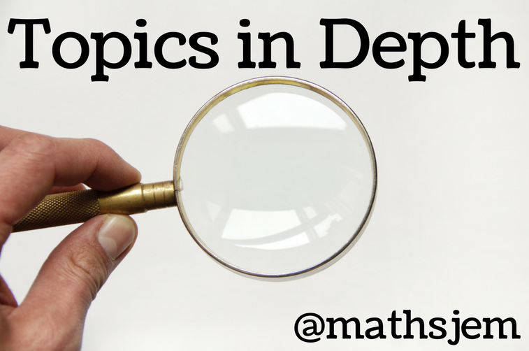 Topics In Depth on Resourceaholic Maths Gems