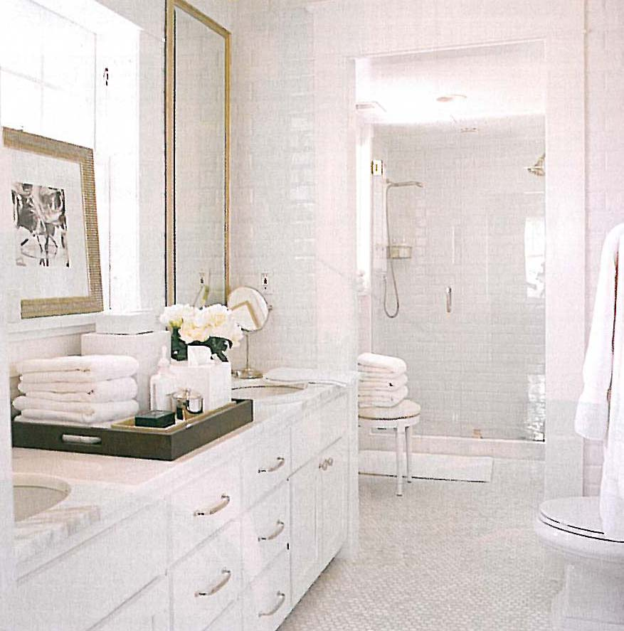 Bathrooms With White Tile Showers: Marbleous Showers: Showers Clad In Marble