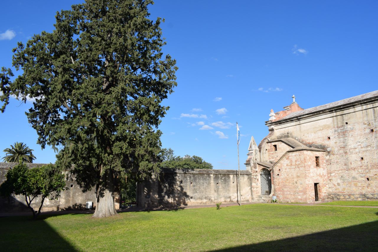 jardim de antiga casa jesuita