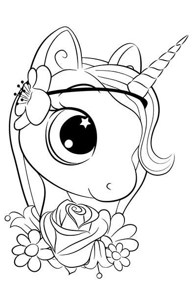 Dibujos De Unicornios Para Colorear Imagenes Y Dibujos Para