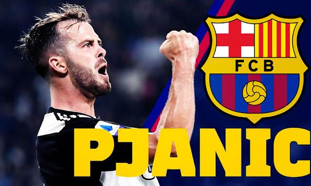 OFFICIEL Miralem Pjanic quitte la Juventus et signe au FC Barcelone