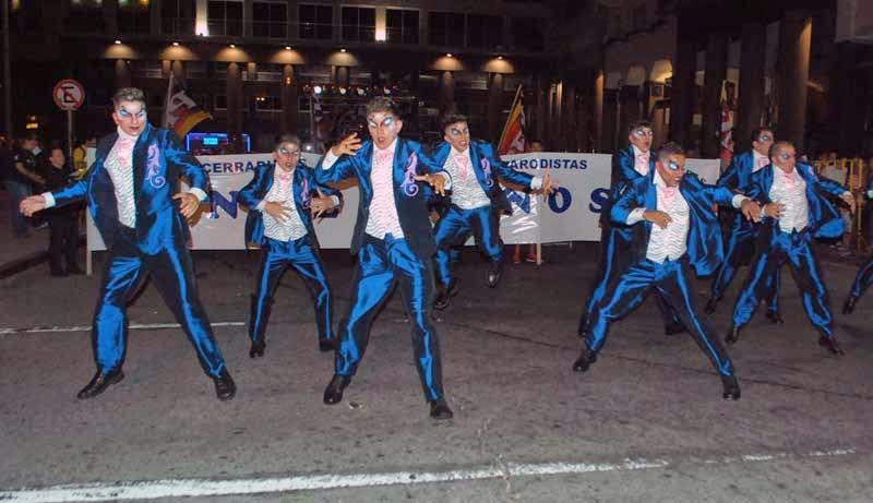 Desfile Inaugural del Carnaval. 2015. Nazarenos.