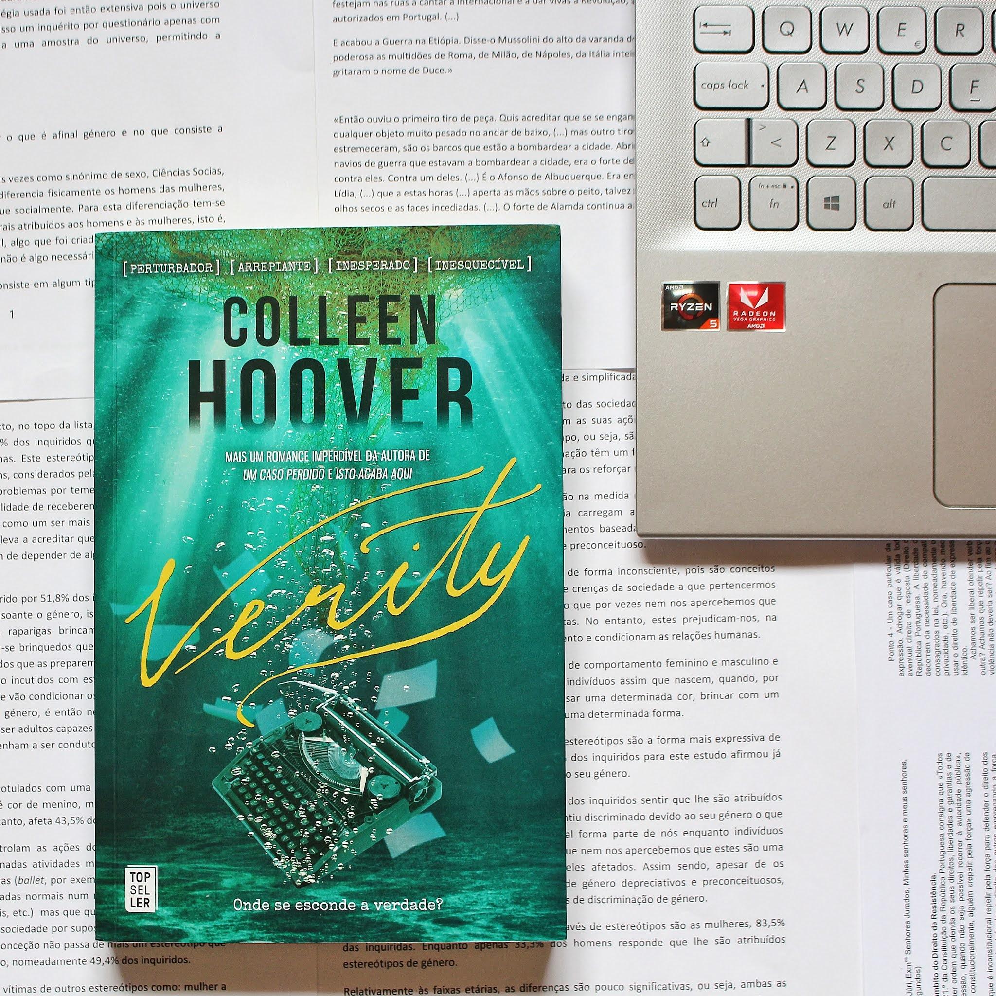 Opinião sobre o thriller «Verity» de Colleen Hoover