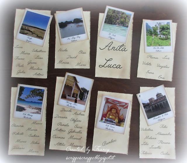 Matrimonio Tema Polaroid : Scripposcrappo
