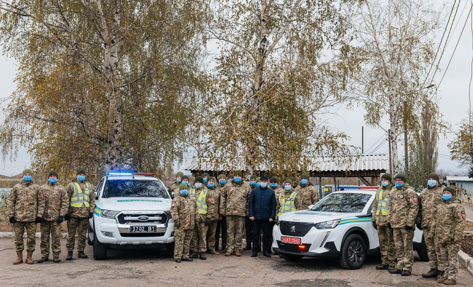 Донецьким ВСПшниками подарували кросовер
