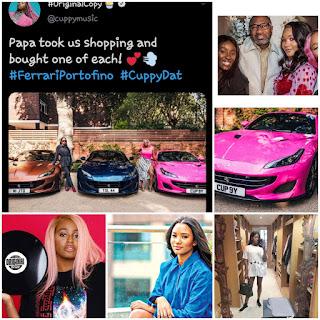Femi Otedola Bought 3 Ferrari Portofino For His Three Daughters - Photos Of Ferrari Otedola Bought For His Daughters