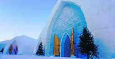 Ice Hotel Quebec City, Canada