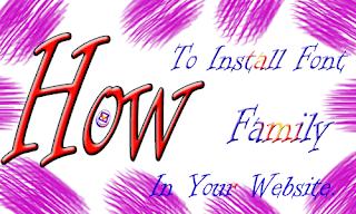 যে ভাবে আপনার Website এ Custom Font Style যুক্ত করবেন।