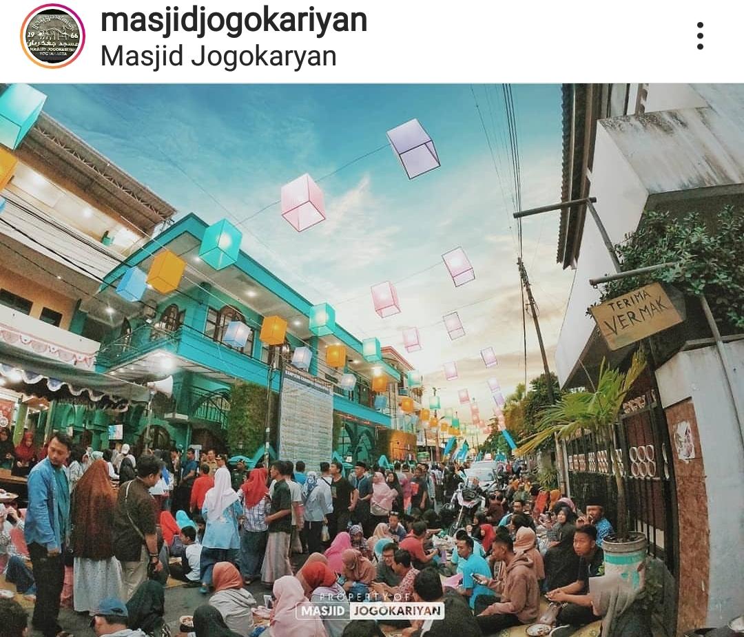 Travelplusindonesia Masjid Jogokariyan Kembali Gelar Buka Puasa