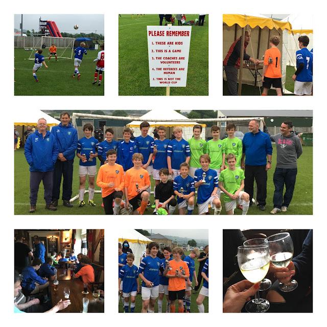 Football tournament winners, June 2016