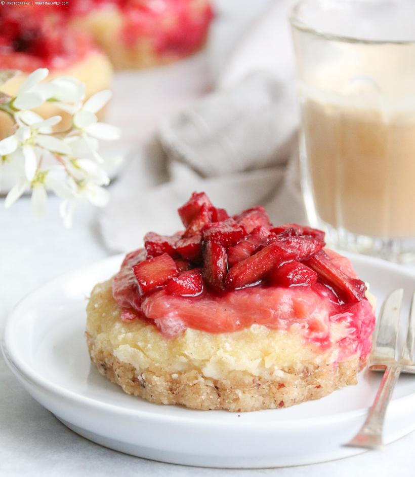 Mini Rhabarber-Cheesecake