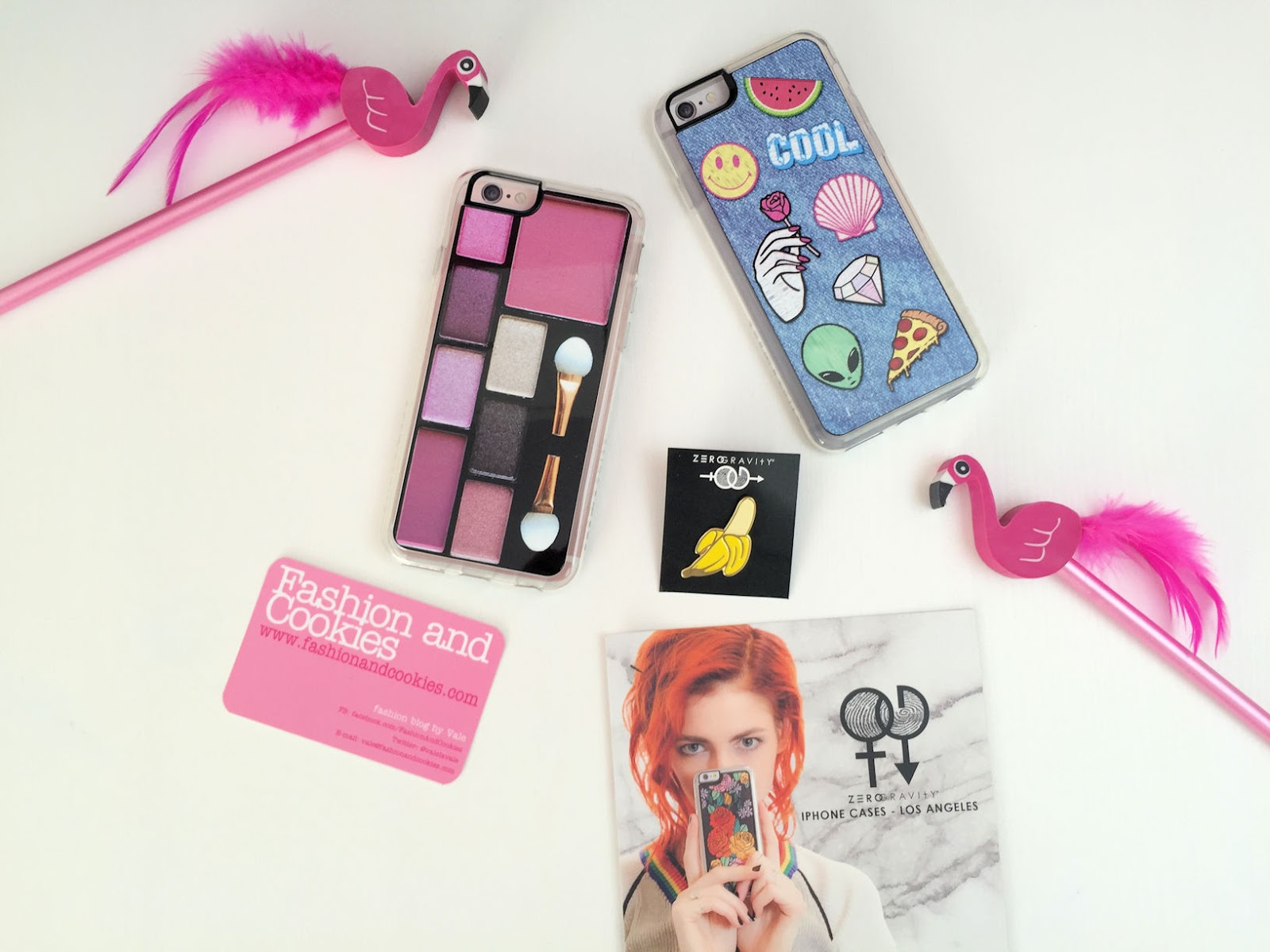 Zero Gravity iPhone 6 cases: riot denim with patches and makeup palette on Fashion and Cookies fashion and beauty blog, fashion blogger