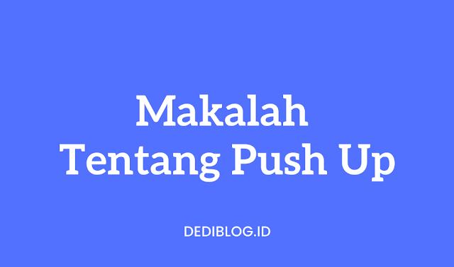 Makalah Push Up
