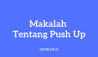 Makalah Push Up