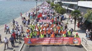 Κατάπιαν τους χιλιάδες διαδηλωτές της Θεσσαλονίκης!