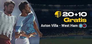 bwin promocion Aston Villa vs West Ham 16 septiembre 2019