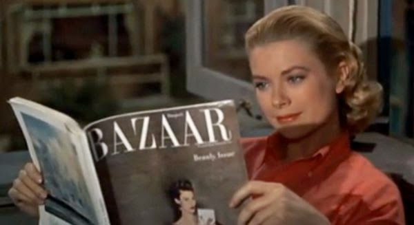 Yonomeaburro La Revista Harper S Bazaar En La Ventana Indiscreta
