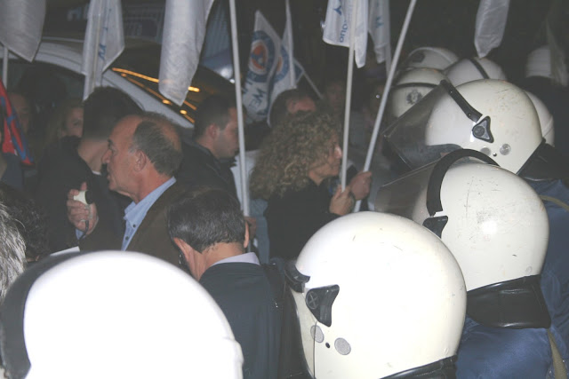 Ομιλία του Αντιπεριφερειάρχη Αττικής Σπ. Τζόκα στη συγκέντρωση διαμαρτυρίας ενάντια στην Ελληνογερμανική Συνέλευση