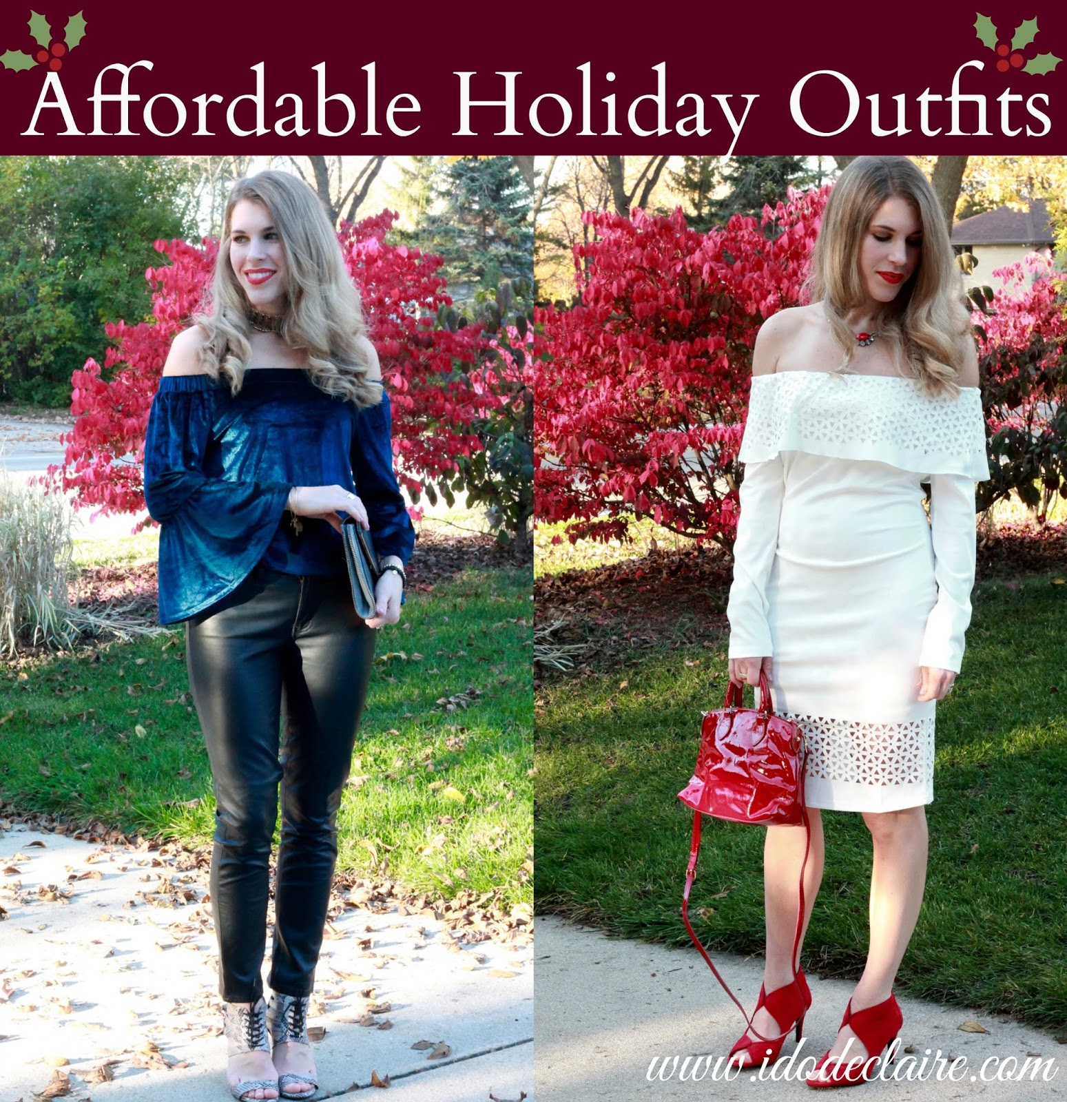 e699e436d27294 I do deClaire  Affordable Holiday Party Outfits