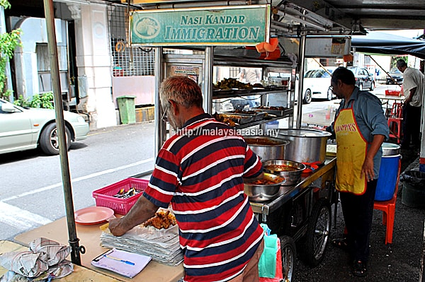 Immigration Nasi Kandar Penang
