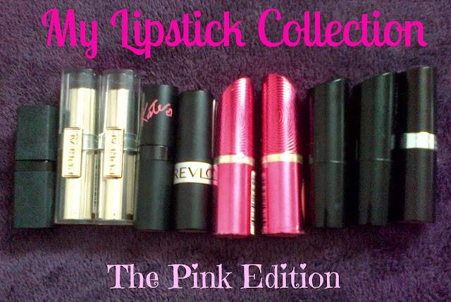 Pink Lipstick Collection