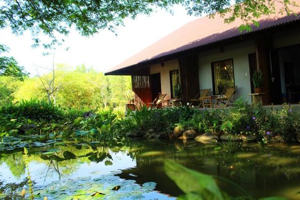 Một góc nhỏ yên tĩnh, đẹp tại khu du lịch Thác Giang Điền (Ảnh sưu tầm)