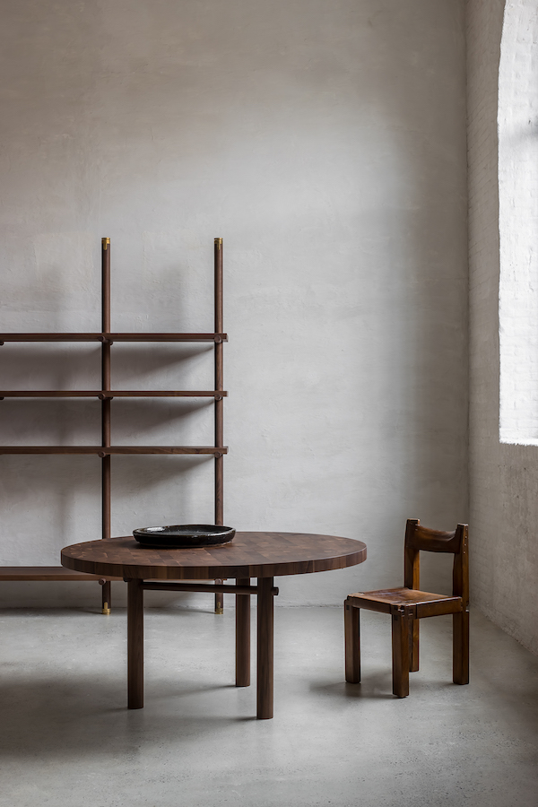 Nomad furniture collection by Belgian designer Nathalie Deboel