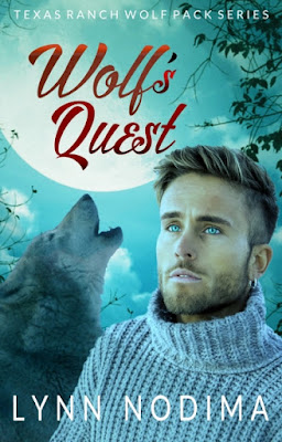 Cover Reveal for Wolf's Quest by Lynn Nodima