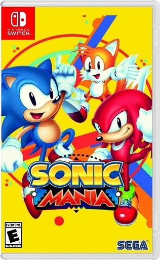 Sonic Mania NSP Switch