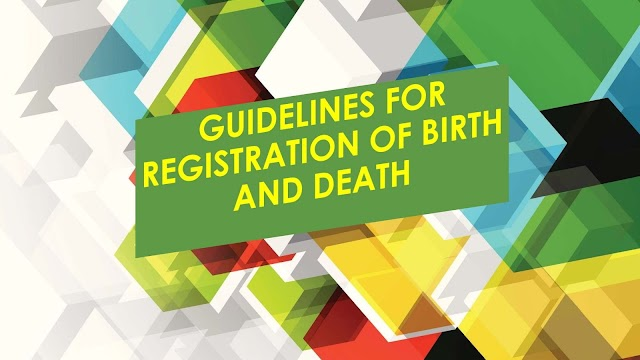 GUIDELINES FOR REGISTRATION OF BIRTH OF CHILD AND DEATH OF ANY PERSON  IN UNION COUNCIL / MUNICIPAL COMMITTEE