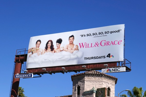 Will Grace season 9 so good billboard