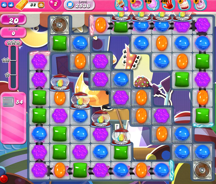Candy Crush Saga level 2536
