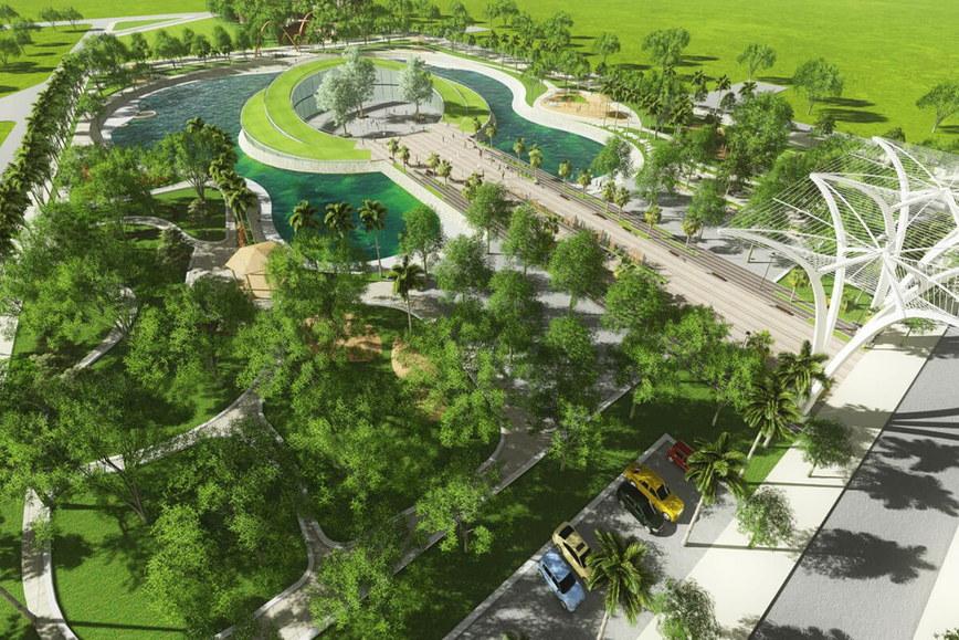tiện ích biệt thự Sol Lake Villa Nam Cường