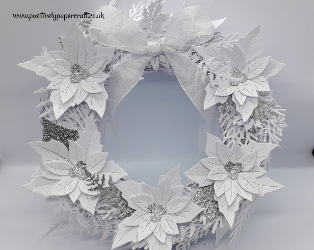 Positivelypapercraft Christmas Wreath Tutorial